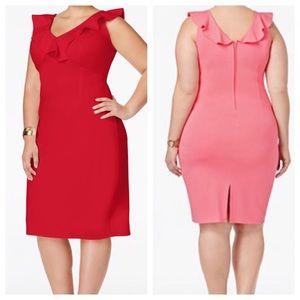 ➕ Red Bodycon Dress